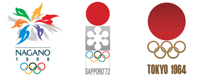 過去のオリンピックロゴ